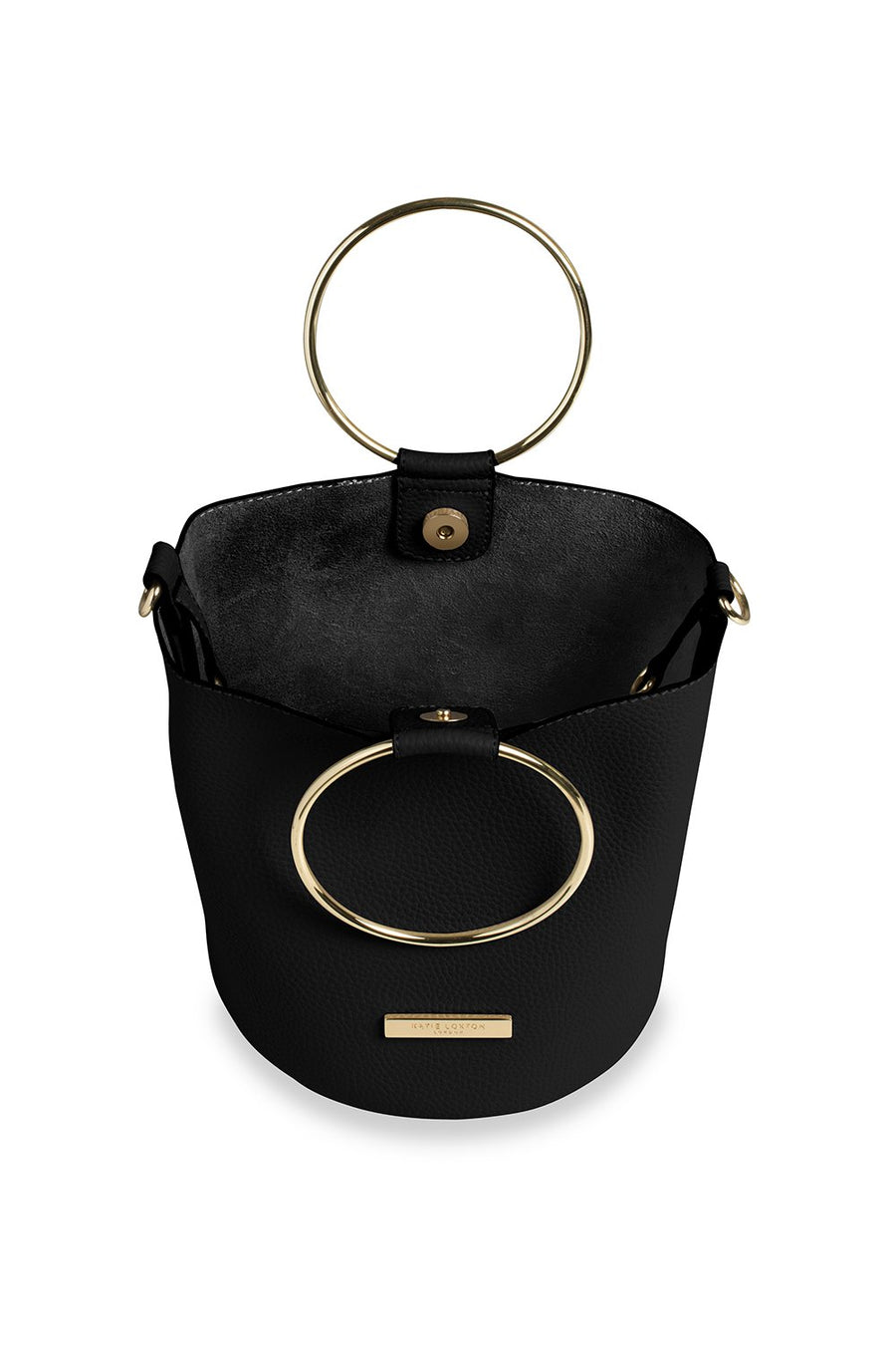 Katie Loxton Black Suki Bucket Bag