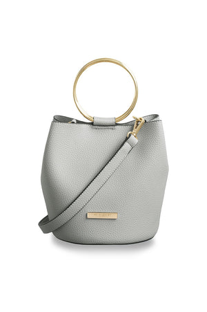 Katie Loxton Pale Grey Suki Bucket Bag
