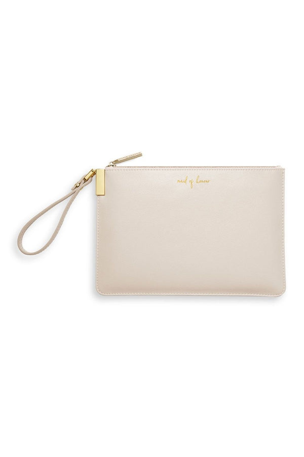 Katie Loxton 'Maid of Honour' Secret Message Pouch with strap