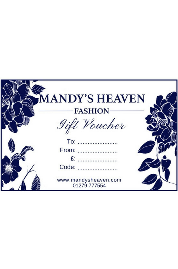 Mandy's Heaven E-Gift Card
