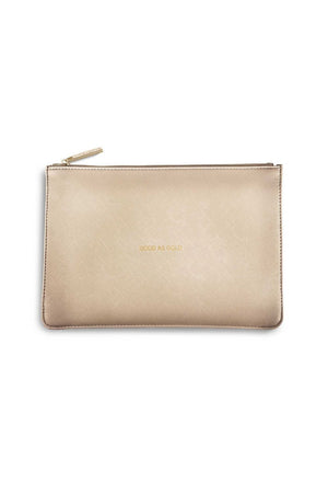 Katie Loxton 'Good as Gold' Perfect Pouch