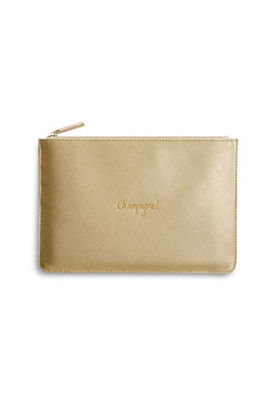 Katie Loxton 'Champagne' Perfect Pouch