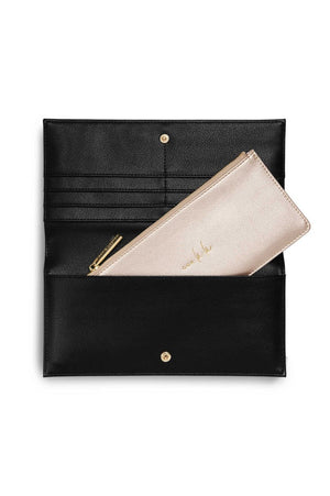 Katie Loxton Black 'Ooh La La' Secret Message Purse