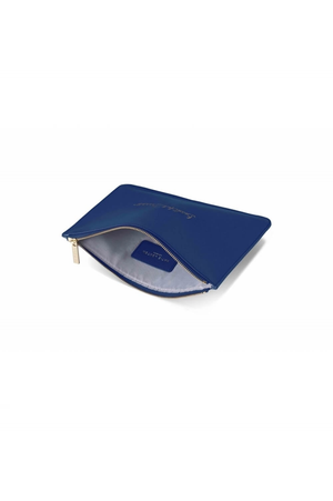 Katie Loxton 'Beautiful Dreamer' Metallic Blue Perfect Pouch