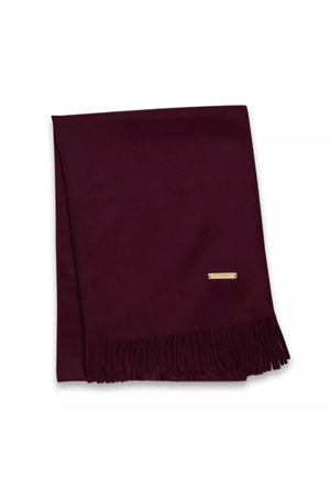 Katie Loxton Burgundy Wrapped in Love Boxed Plain Blanket Scarf