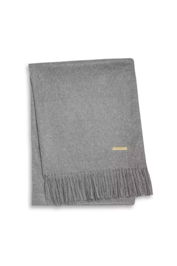Katie Loxton Grey Wrapped in Love Boxed Plain Blanket Scarf