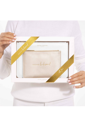 Katie Loxton 'Beautiful Bridesmaid' Perfect Pouch Gift Set
