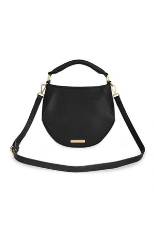 Katie Loxton Black Zianna Crossbody Bag