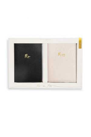 Katie Loxton Mr & Mrs Bridal Passport Cover Gift Set