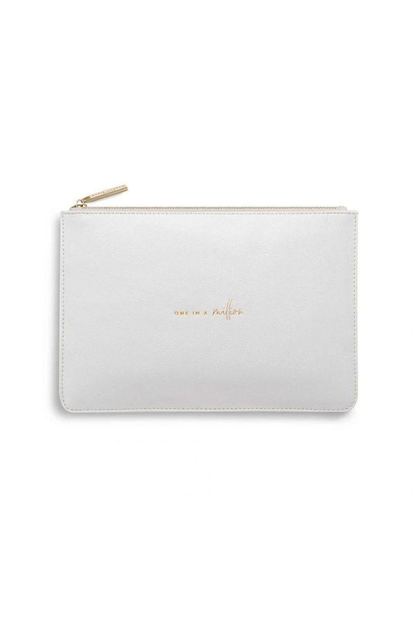 Katie Loxton Grey One In A Million Perfect Pouch