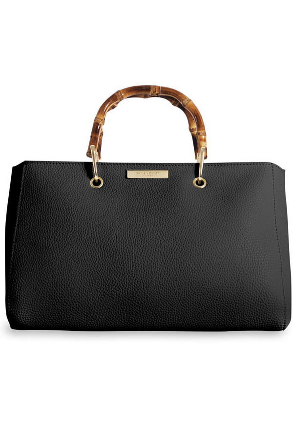 Katie Loxton Small Black Bamboo Bag