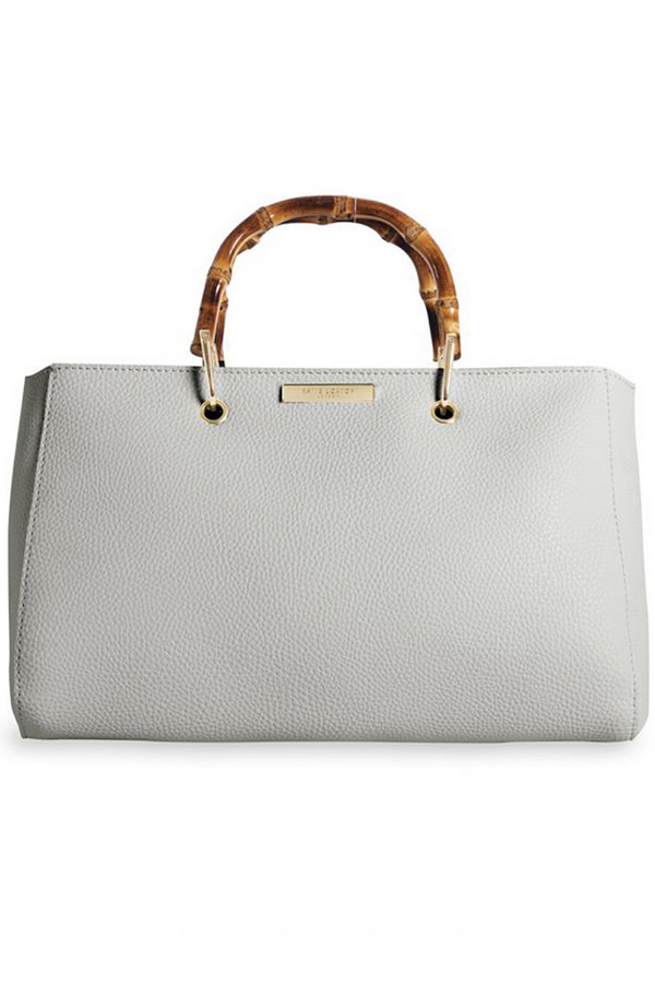 Katie Loxton Small Grey Bamboo Bag