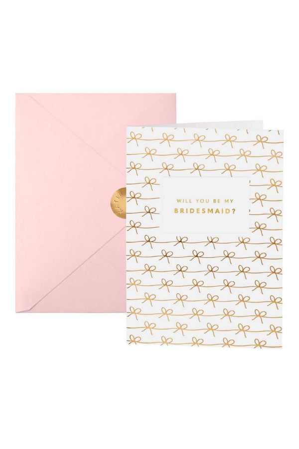 Katie Loxton 'Will You Be My Bridesmaid?' Greetings Card