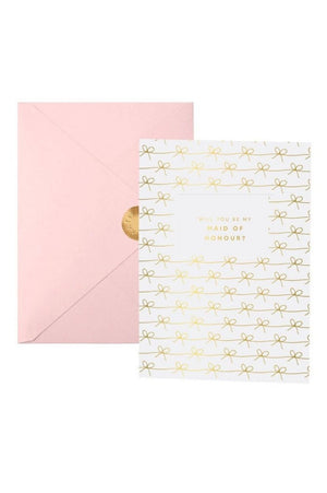 Katie Loxton 'Will You Be My Maid Of Honour?' Greetings Card