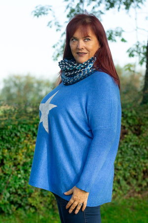 Blue Star Lightweight Jumper