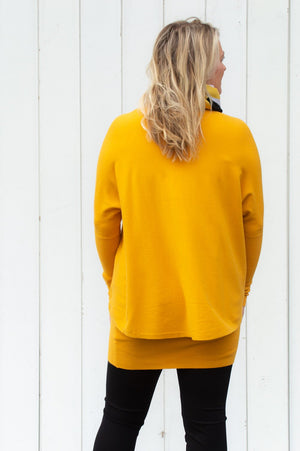 Mustard Jumper and Vest Set