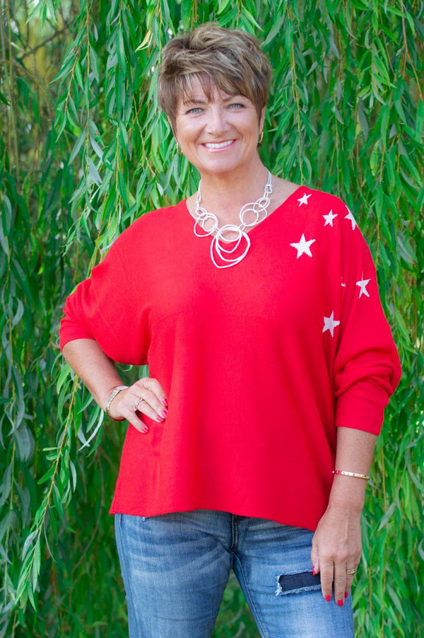 Red Star Wooly Jumper
