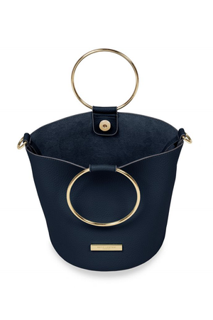 Katie Loxton Navy Suki Bucket Bag