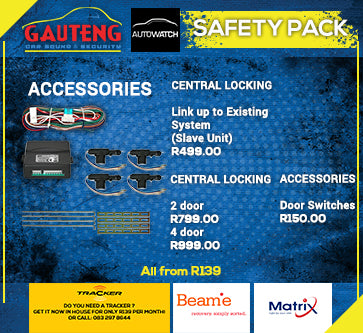 CENTRAL LOCKING -ACCESORIES
