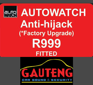 AUTOWATCH Anti Hijack - fitted