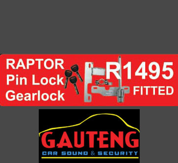 Raptor Pin Lock Gearlock