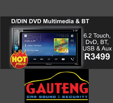 D/DIN DVD Multimedia and BT