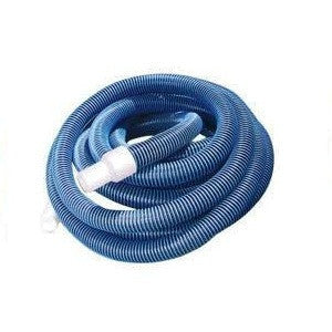 "Premium Swimming Pool Vacuum Hose with Swivel Cuff 50' feet by 1 1/2"" inches"