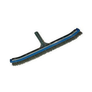 Swimming Pool 18-Inch Algae Brush with Stainless Steel Bristles