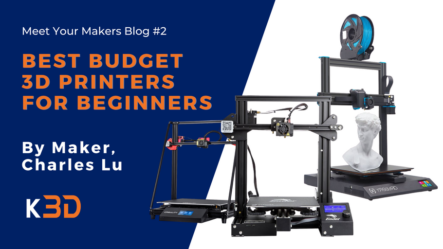 Best Budget 3D Printers for Beginners