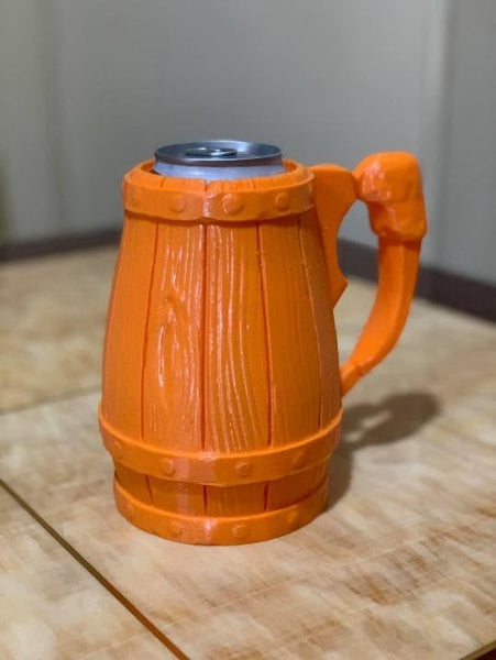 Can Holder in PopBit Orange