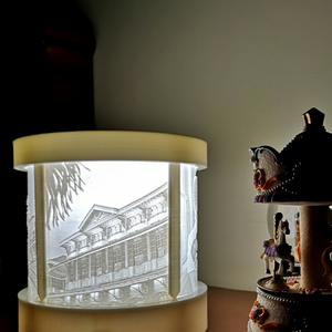 3DMemory Lamp by Kezar3D | Personalized Lamp