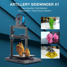 Load image into Gallery viewer, Artillery Sidewinder X1 V4 | 3D Printer | kezar3d.com