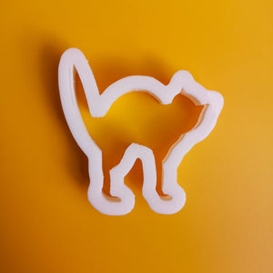 3D Printed Cat Cookie Cutter | kezar3d.com