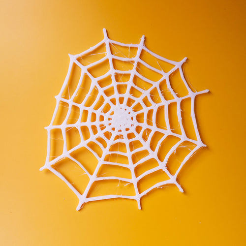 3D Printed 2D Spider Web Decor | kezar3d.com