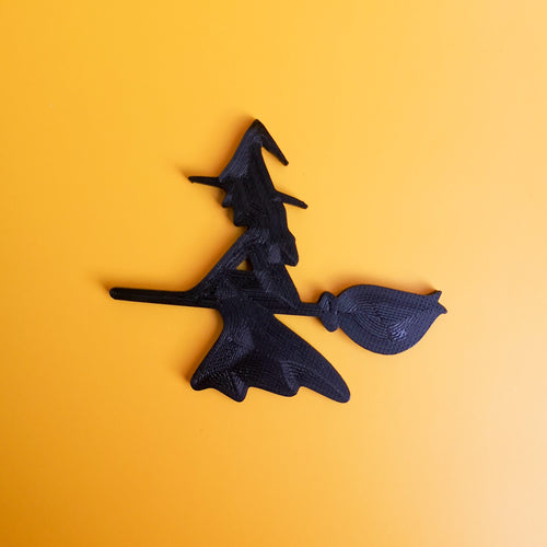 3D Printed 2D Witch Decor | kezar3d.com