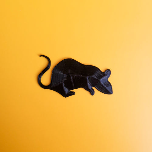 3D Printed 2D Rat Decor | kezar3d.com