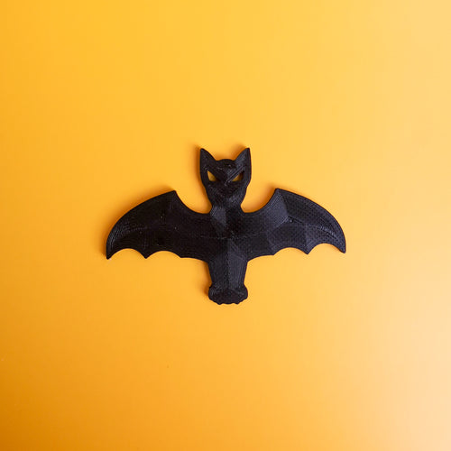 3D Printed 2D Bat Decor | kezar3d.com