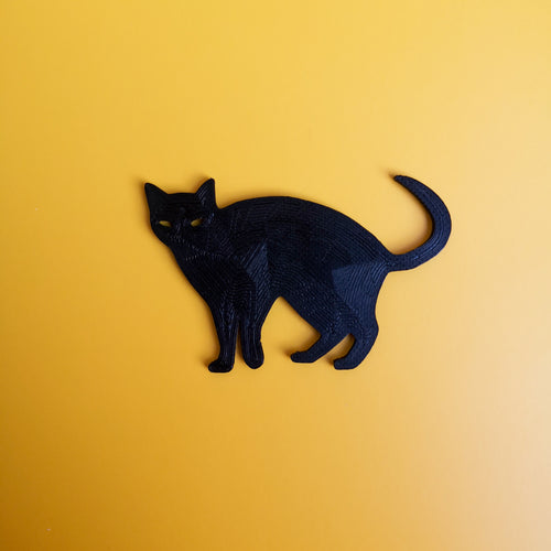 3D Printed 2D Cat Decor | kezar3d.com