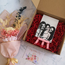 Load image into Gallery viewer, Sketch3D + Mini Easel Gift Set Upgrade with Veronica Bouquet | kezar3d.com