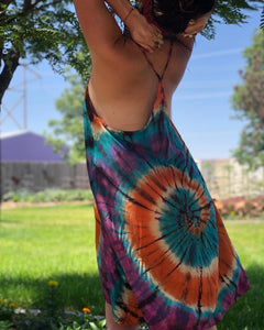 Yellowstone Morning Glory Hot Spring (Short T-strap dress)