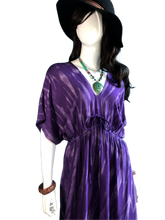 Load image into Gallery viewer, Amethysts in Brazil (Long blouse dress)