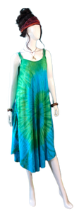 Andaman Sea (Double Braided Strap Dress)