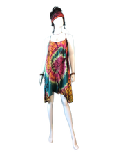 Load image into Gallery viewer, Cherry Blossoms of Okinawa (Short T-strap dress)