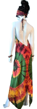 Load image into Gallery viewer, Yellowstone Morning Glory Hot Spring (Cinch bust dress)