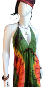 Yellowstone Morning Glory Hot Spring (Cinch bust dress)
