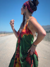 Load image into Gallery viewer, Rosellas Down Under (Long halter dress)