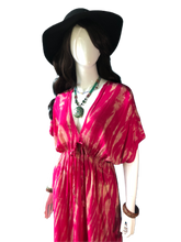 Load image into Gallery viewer, Azalea festival in Japan (Long blouse dress