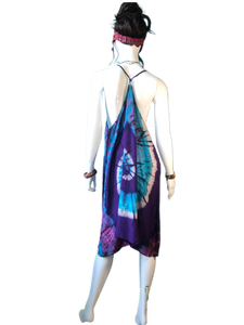 Teal Eyed Coral (T-Strap Dress)