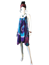 Load image into Gallery viewer, Teal Eyed Coral (T-Strap Dress)