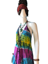 Load image into Gallery viewer, Rainbow Mountain (Cinch Bust Dress)